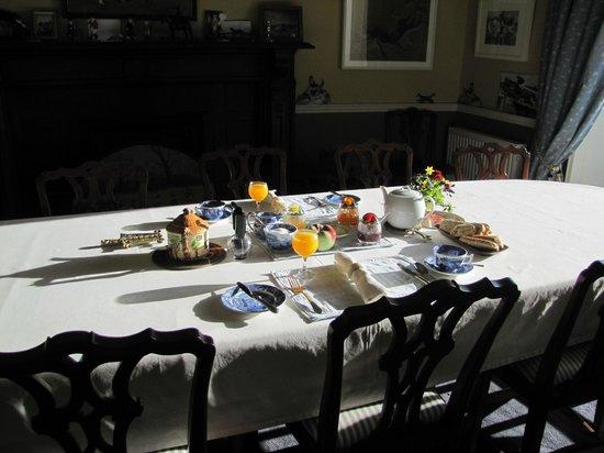 Gaultier lodge: Frühstück für Zwei!