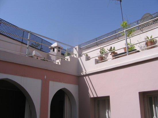 Riad Tahani: terrasse
