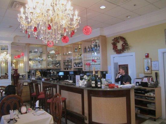 Scarlet Tea Room: Lovely interior