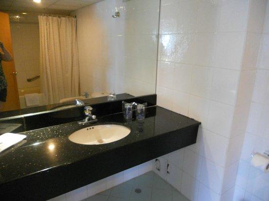 Hotel Miramar: banheiro
