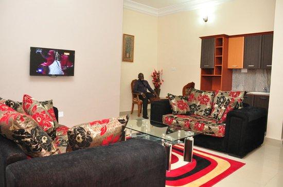 Hemas Hotel: Suite - Living Room