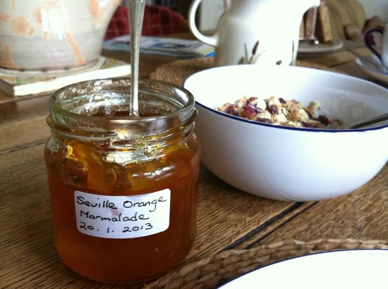 2 Albany Terrace: homemade marmalade