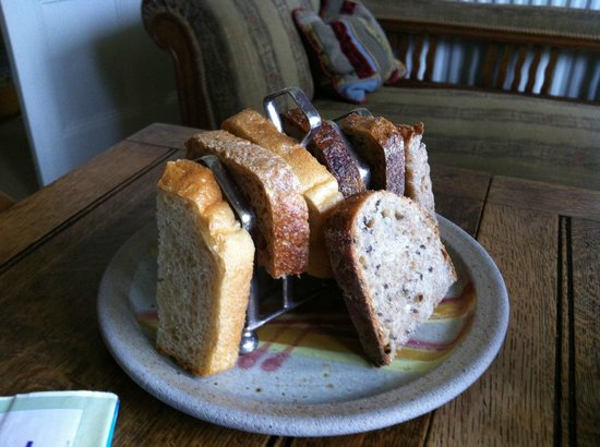 2 Albany Terrace: selection of bread