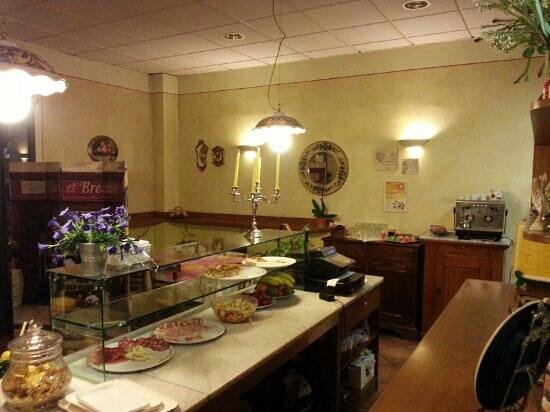 Dal Tagliapizza: Stuzzichini e dolci...