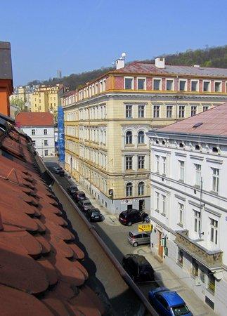 Hotel U Martina - Smichov: From the window