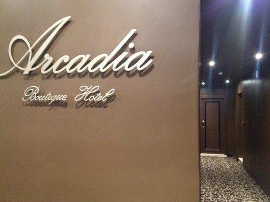 Arcadia Boutique Hotel: hotel