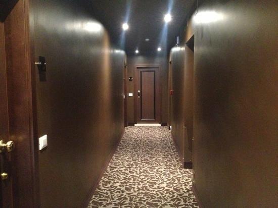 Arcadia Boutique Hotel: corredor de entrada