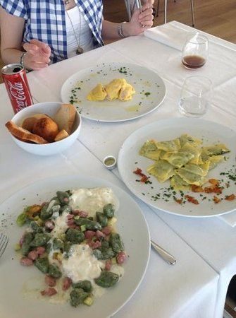 Pianderna Agriwellness: gnocchi,tortellacci e tortelli