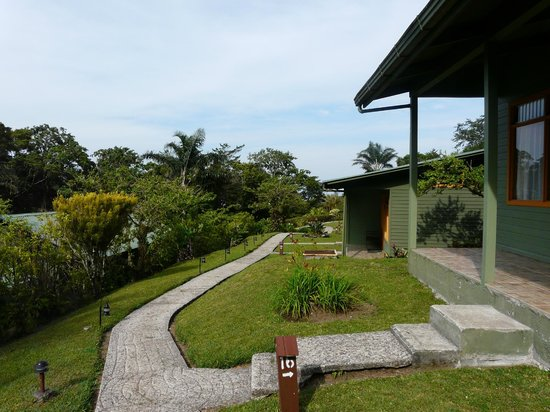 Monteverde Cloud Forest Lodge: Outside our chalet