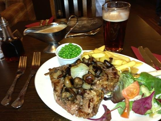 Horseshoes Berriew: Tbone Steak