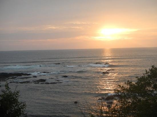 Crystal Sands Tamarindo Condo Villas: Beautful Sunset from Terrace