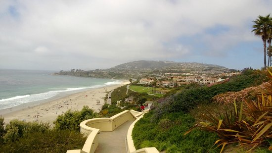 The Ritz-Carlton, Laguna Niguel: View overlooking beach area