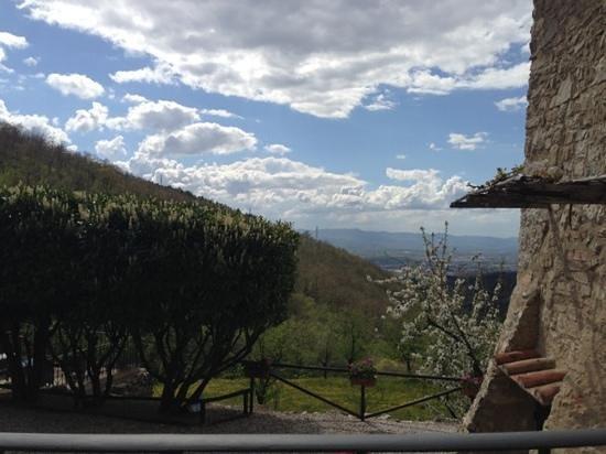 Tenuta Lonciano: vista su Firenze spettacolare