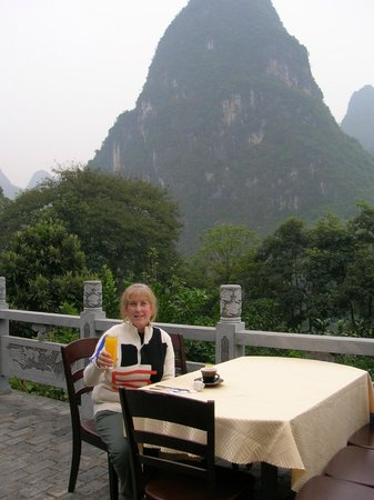 Li River Resort: First breakfast at Li River Retreat