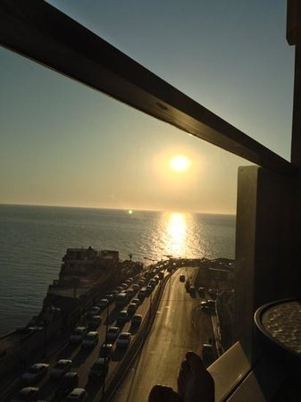 Raouché Arjaan by Rotana: view from the balcony on the 6th floor