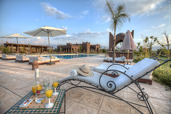 Kasbah Igoudar: terrace