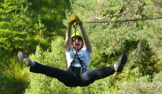G2 Outdoor - Day Activities: Zip Line aviemore