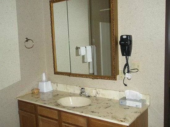Trappers Inn : large bathroom