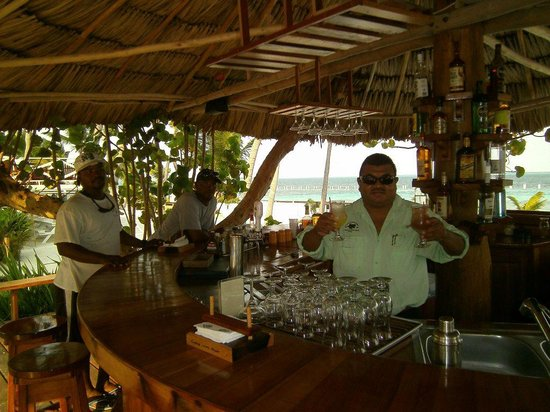 Turneffe Island Resort: George the bartender