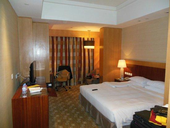 Park Plaza Wangfujing: standard room living area