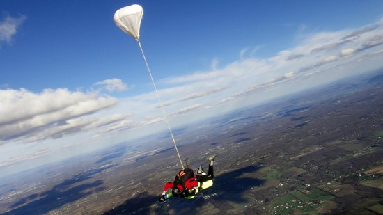 Skydive the Ranch: In freefall