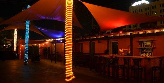 Galveston Island, TX: the patio