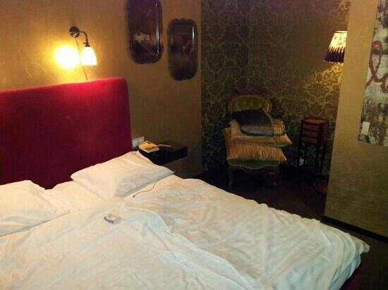 Skanstulls Vandrarhem: unser Zimmer
