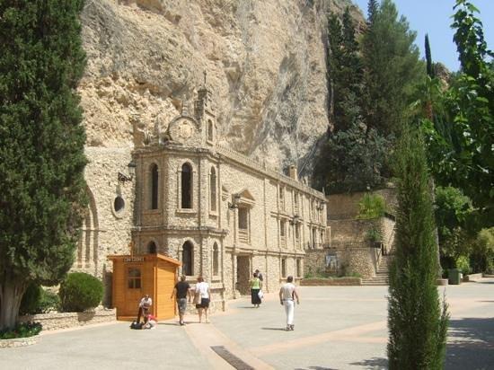 Cathedral de Santa Maria: The church built into the rock.