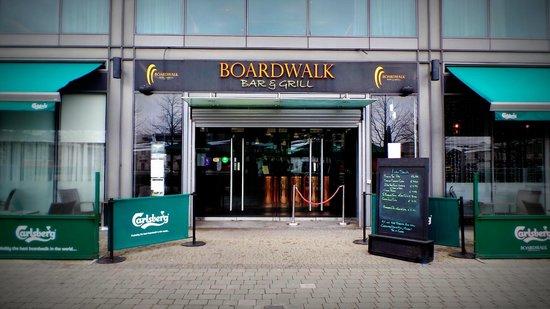 Boardwalk Bar & Grill: Front Entrance