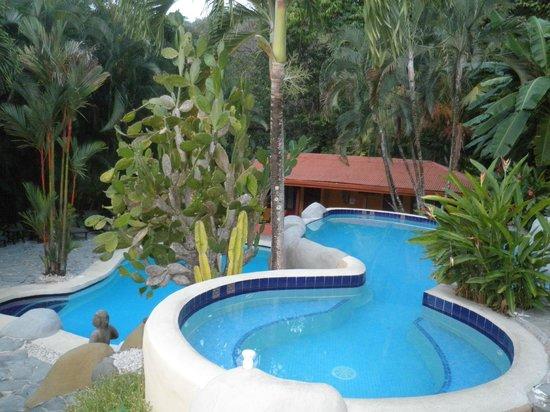 Hotel El Jardin: superbe plan d'eau