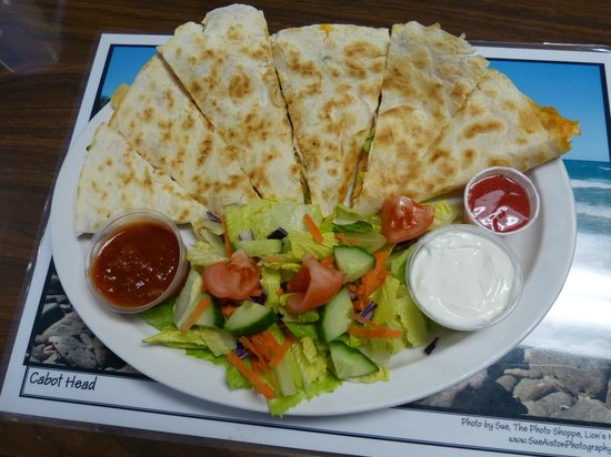 Marydale's Family Restaurant: Best  Chicken Quesadilla EVER!