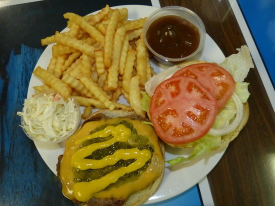 Marydale's Family Restaurant: Our burgers are homemade.  Without the bun they are gluten free too!