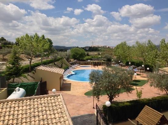 Hotel Rural Llano Pina: Vista dalla camera 204.