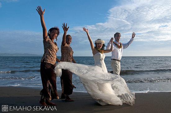 Emaho Sekawa Resort: Sekawa Beach Wedding