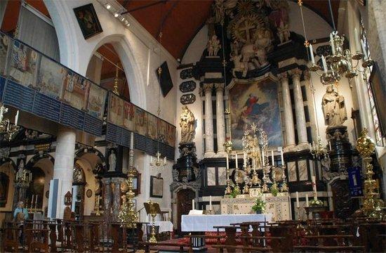 Onze-Lieve-Vrouw ter Potterie: Ornate interior