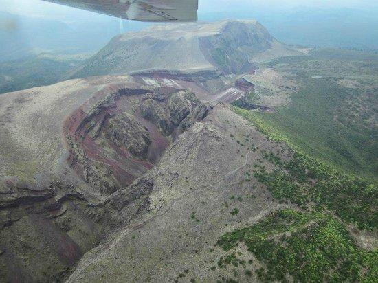White Island Flights : Mt Tarawera