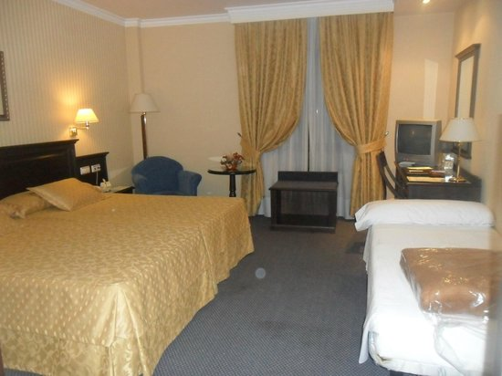 Hotel Santiago : la habitacion donde nos alojamos