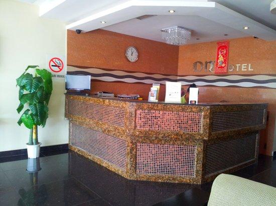 DM Hotel: reception