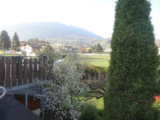 Les Tilleuls : autre vue sur la montagne