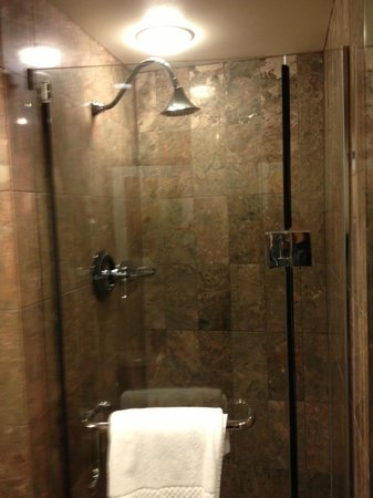 Shower in Room 1521 - Picture of JW Marriott San Francisco Union ...