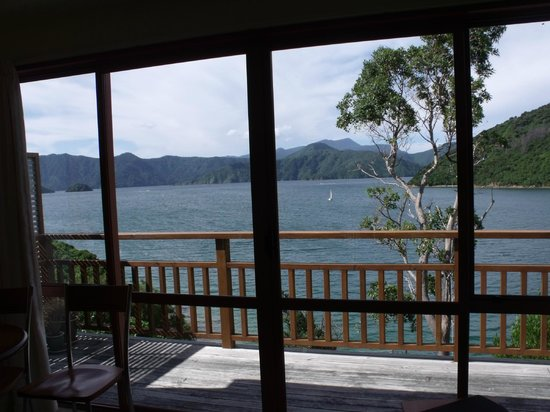 Whatamonga Homestay: View from the bed!
