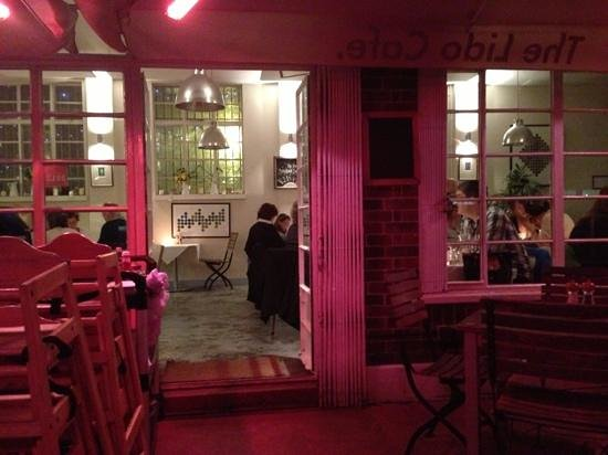 The Lido Cafe : the pool door