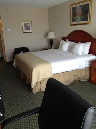 Holiday Inn Burlington: traditional decor