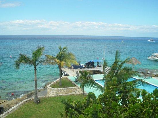 Blue Angel Resort: vista desde la habitación