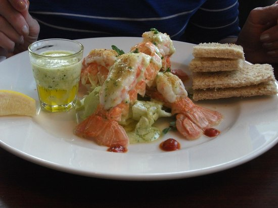 22 Hill Hotel : Lobster Tails as a Starter