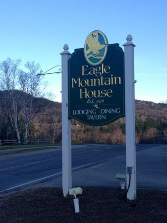 Eagle Landing at Eagle Mountain House: off the beaten path