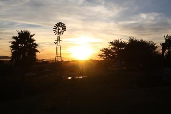 De Zeekoe Guest Farm: View from Room 8 - Great Sundowner