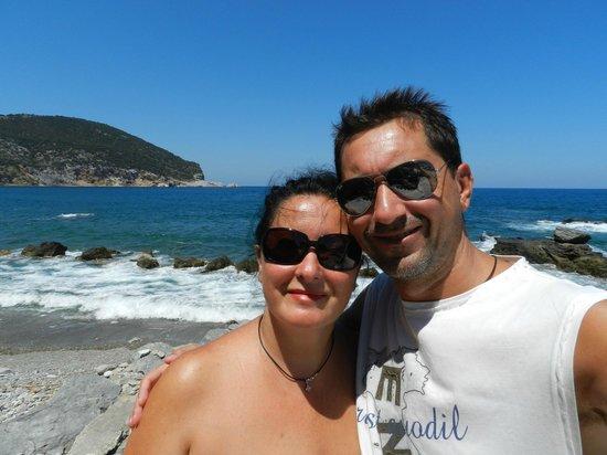 Evlalia Apartments: Noi , 2 turisti per caso .......