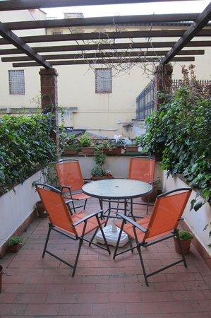 Relais Accademia: Terrace