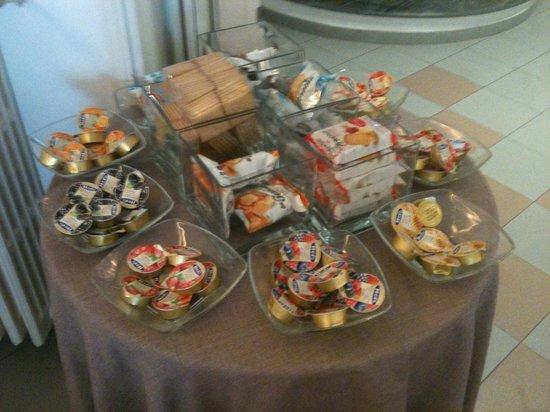 Hotel Ristorante da Graziano: una parte della colazione
